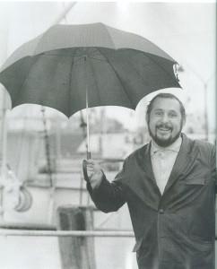 """Tadeusz Chyła """"Z parasolem"""""""