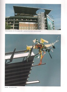 Centrum Olimpijskie wiecha