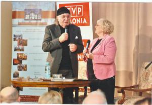 Zbigniew Adrjański prowadzi wieczór autorski p.t. Polesie którego już nie ma – w towarzystwie : Adrianny Godlewskiej Młynarskiej