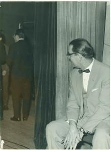 Edward Czerny za kulisami Opery Leśnej