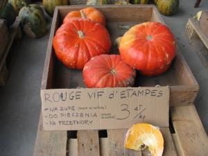 Rouge vif d'Etampes na przetwory, do pieczenia