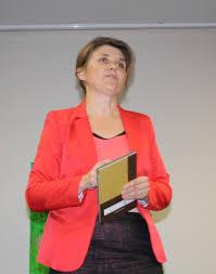 Joanna podczas spotkania