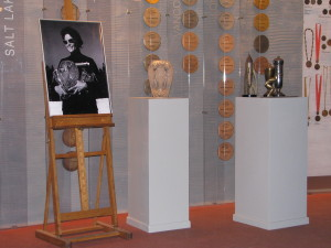 Trofea Elwiry Seroczyńskiej przekazane przez Jej syna dla Muzeum