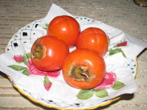 owoce persymony, czyli kaki