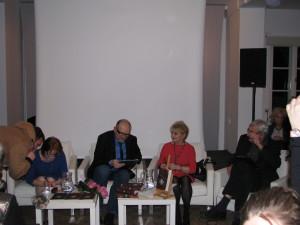 od lewej Małgorzata Gutowska Adamczyk, Wojciech Adamczyk Magdalena Zawadzka, Wiktor Zborowski