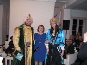 Bohaterowie książki wraz z autorką panią Małgorzatą Gutowską-Adamczyk