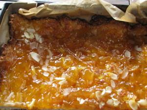 mazurek pomarańczowy dżem  St.Dalafour imbirowo pomarańczowy