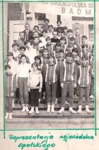 reprezentacja województwa opolskiego w badmintonie na XII Ogólnopolska Spartakiadę