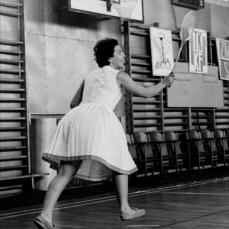 badminton lat sześćdziesiątych