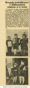1954 Ta z kokardą i skrzypkami to ja, poznajecie?