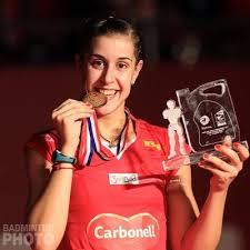 mistrzyni świata w badmintonie 2015  Carolina Marin