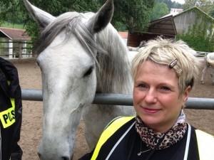koń lipicański z Agnieszką w Piber