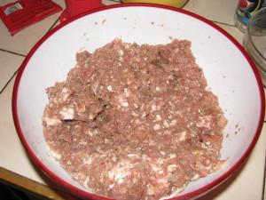 przygotowywanie mięsa