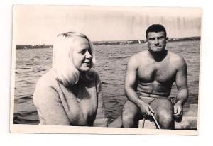 Zbyszek Werkowicz i Jadwiga Mazanek